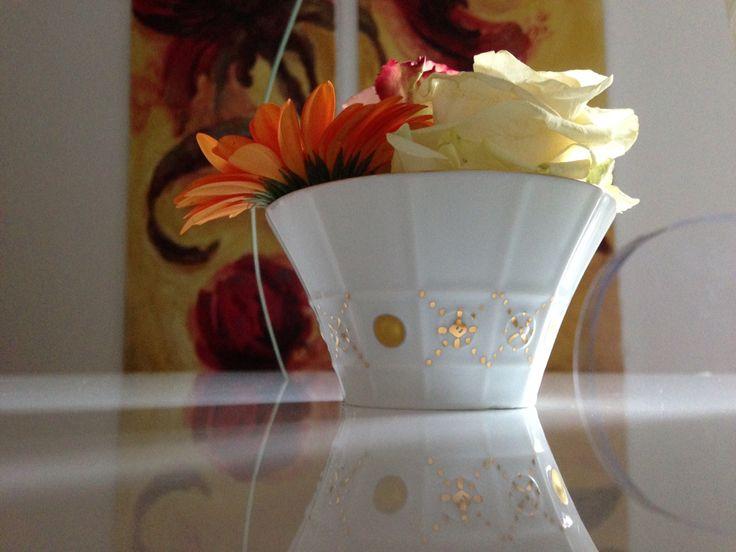 Porcelaine Limoges millenium peint main