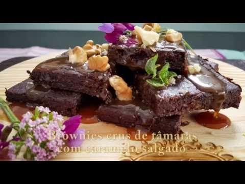 Brownies sem farinha, sem ovo, sem açúcar e sem forno!!