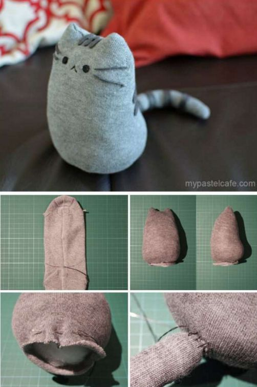 Kidissimo: sewing projects with socks / 9 cute little blankets to make your own …   – Lea  Glimmer
