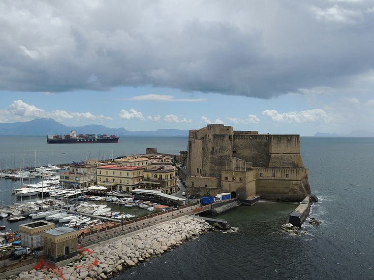 Castel Dell'Ovo (Egg Castle) - Naples. 40°50′00″N 14°15′00″E