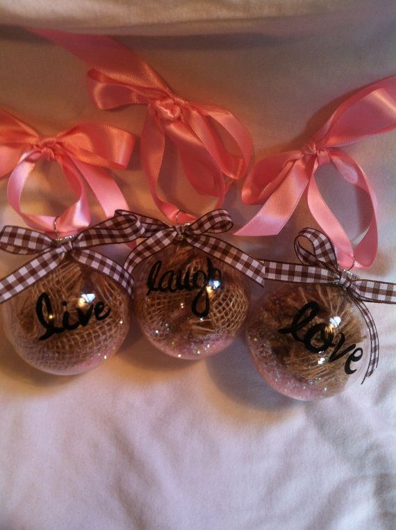 Hey, I found this really awesome Etsy listing at http://www.etsy.com/listing/160449971/live-laugh-love-ornament-set