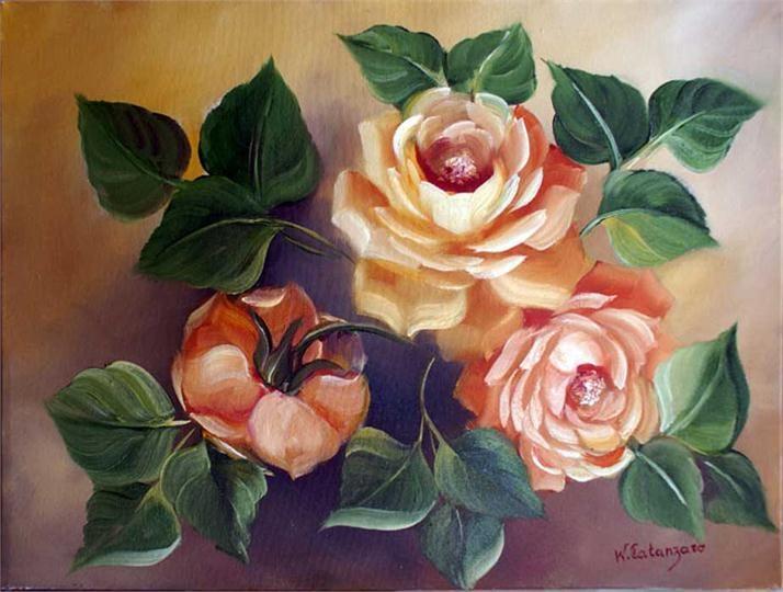 Pinturas de Flores - Waldir Catanzaro