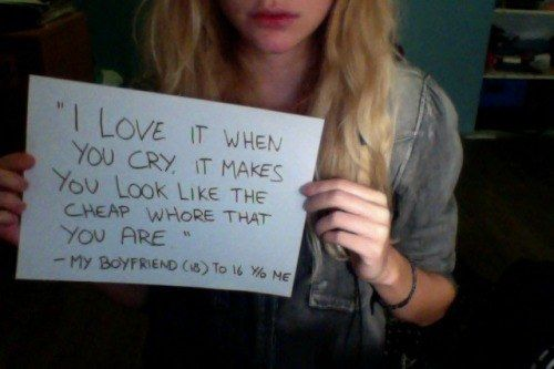 10 Survivors Of Domestic Violence Quoting The People Who Attacked Them