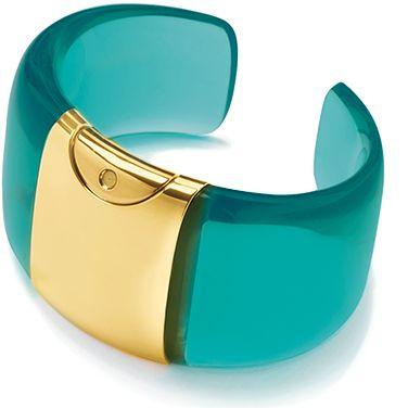 Armida Touch bracelet - fragrance dispenser Aquamarine-ice GOLD!    @armidatouch  http://www.armidatouch.com/create-bracelet