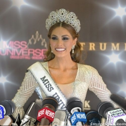 Gabriela Isler Miss Universe 2013 Press Conference
