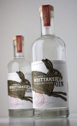 Whittaker's Gin   Whittaker's Gin 50cl bottle
