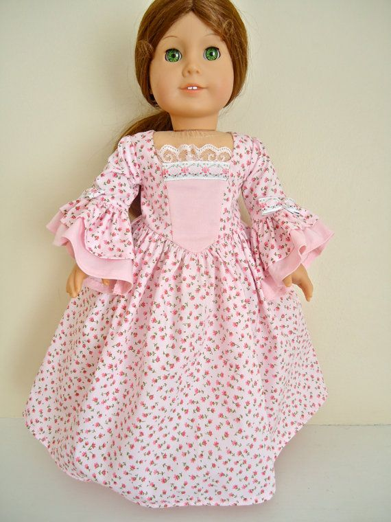 American Girl Felicity Roses Roses by BackInTimeCreations on Etsy, $24.00