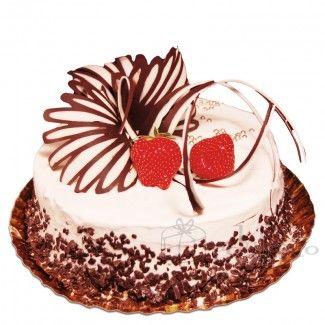 Blaturi insiropate, frisca, visine, glazura de vanilie si fructe proaspete