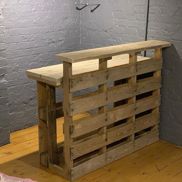 Latest Wooden Pallet Furniture Ideas – #barideas #…
