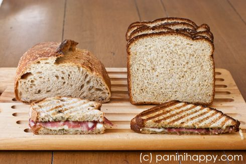 Panini Happy's tips for choosing the best bread for paninis
