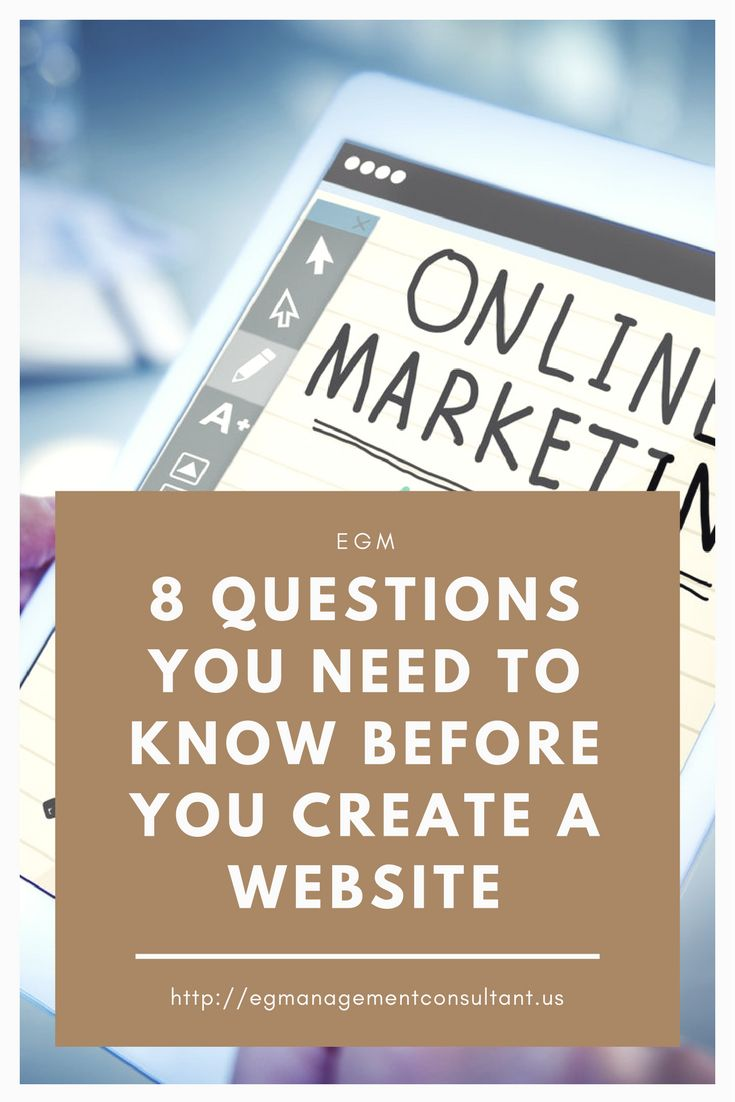 Are you planning on creating a website soon? Do you already have a website but it's not going well? Well here are 8 questions you need to know before you create a website.  #website #planning #createasite #wordpress #internetmarketing #marketing #digitalmarketing