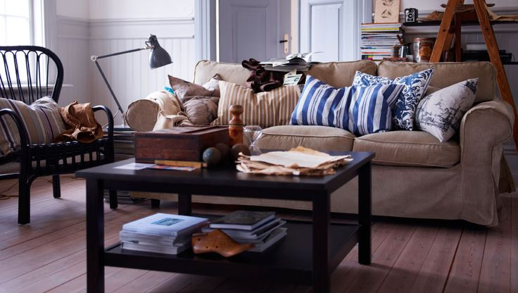 Tan couches, Coffee and Living rooms on Pinterest
