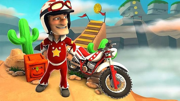 Joe Danger is one of the best games to hit the smartphone market, Awesome graphics and easy to play. Outstanding colours and imaginative game play viewing. RIG Rating 10/10