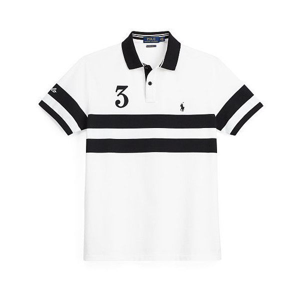 Polo Ralph Lauren Custom Slim Featherweight Polo (125 CAD) ❤ liked on Polyvore featuring men's fashion, men's clothing, men's shirts, men's polos, mens slim shirts, ralph lauren mens shirts, mens base layer shirts, mens classic fit shirts and mens slim fit polo shirts