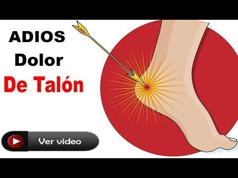 Dile Adiós Al Dolor De Talón Por Las Mañanas O Cuando Estás De Pie Con ESTE Remedio Tan Poderoso - YouTube