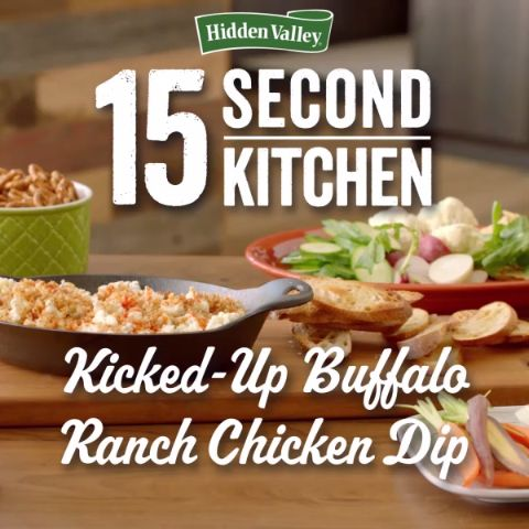 Add some kick to your dipping game this season and try our quick and easy recipe for Buffalo Ranch Chicken Dip! It's sure to be a game changer.