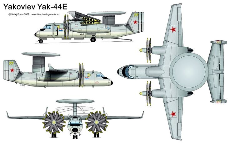 Yakovlev Yak-44 AWACS