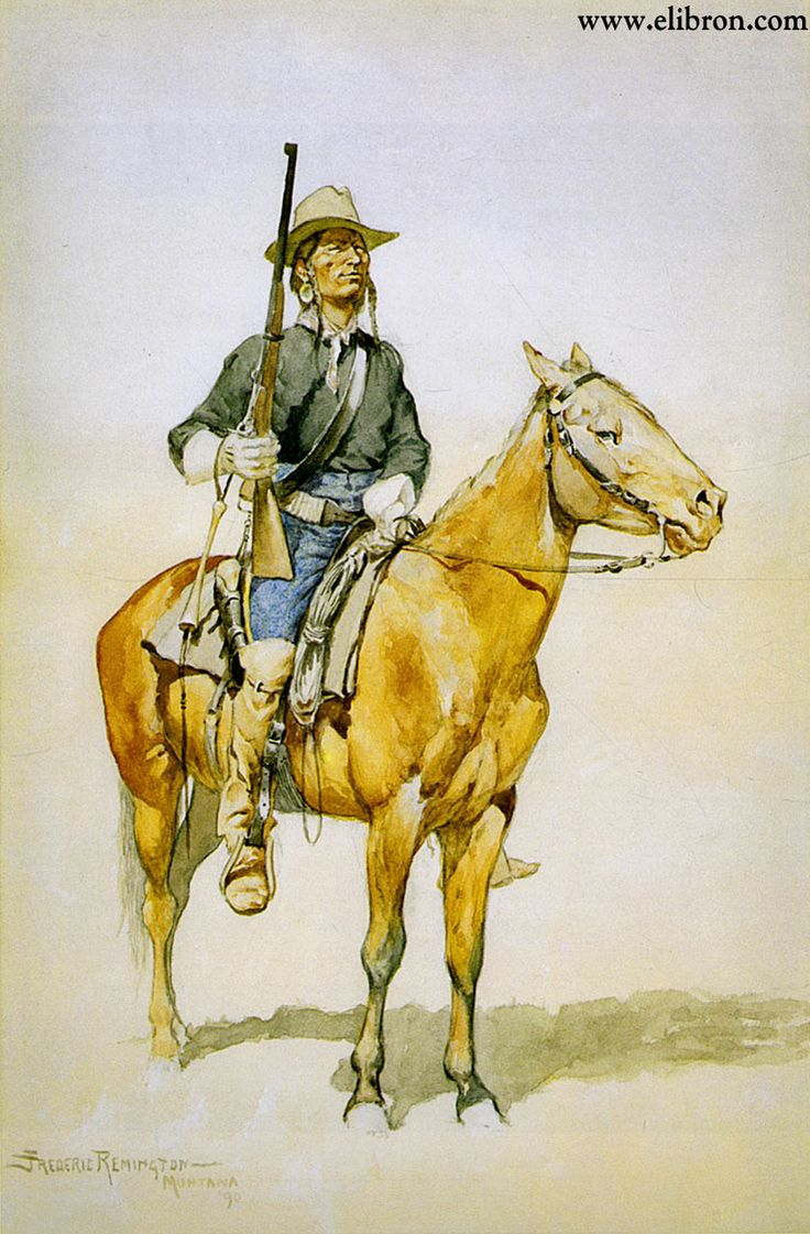 163 best Frederic Remington (Native Am. Art) images on Pinterest ...