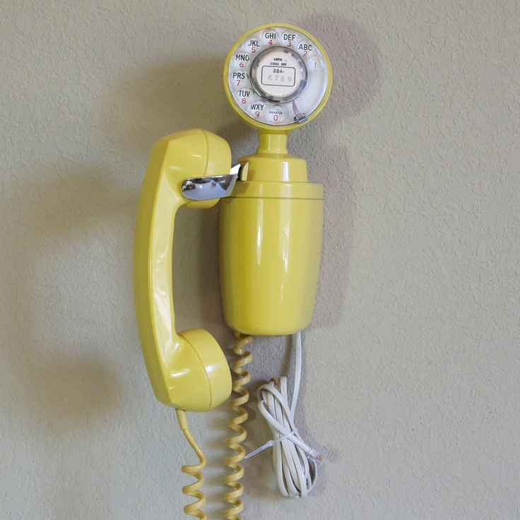 1965 Space Saver Phone by Bell Telephone - Roll out the red carpet. Dressed in the guise of a retro color, model, or make, a ubiquitous device—the phone—becomes as dashing as an old Hollywood movie star. Refurbished by Little Pleasures, this old-timer has still got plenty of life in it. Hook it up to a landline or use it for display purposes. Either way, this vintage telephone is sure to be the talk of your area code—and the breathtaking design will make it a conversation piece…