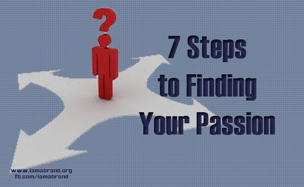 If you're feeling a little stuck or want to establish that 'path of purpose and passion' give these 7 steps a try. You might be surprised what you discover about yourself, your interests and the path you could be on!