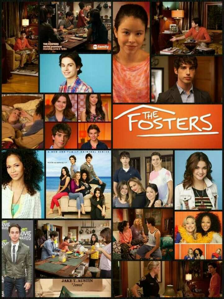 The Fosters....the best show in the world.....@Aly Dratch collins