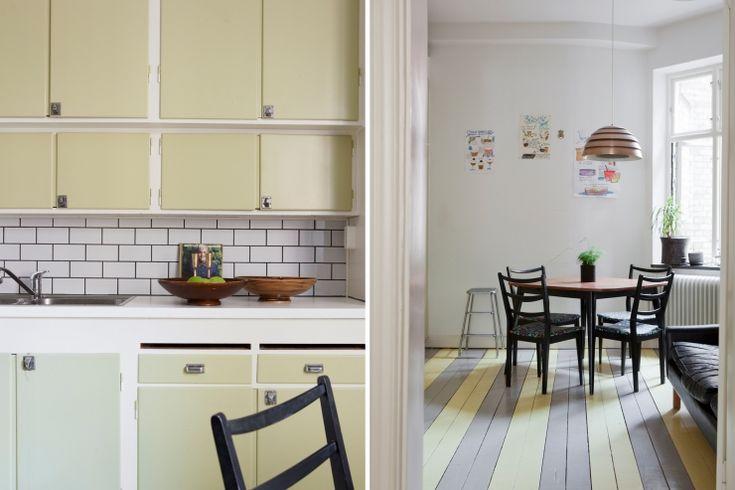 Appartement in Malmö met mooie ronde ramen