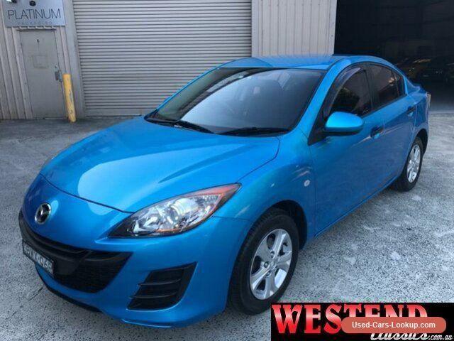 2011 Mazda 3 BL10F1 MY10 Neo Blue Automatic 5sp A Sedan #mazda #3 #forsale #australia