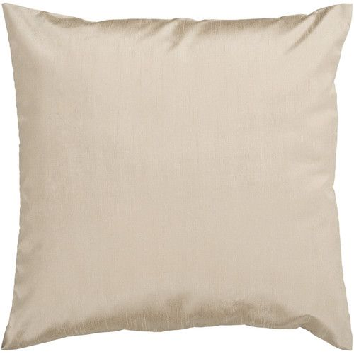 Found it at AllModern - Appley Solid Luxe Synthetic Throw Pillow
