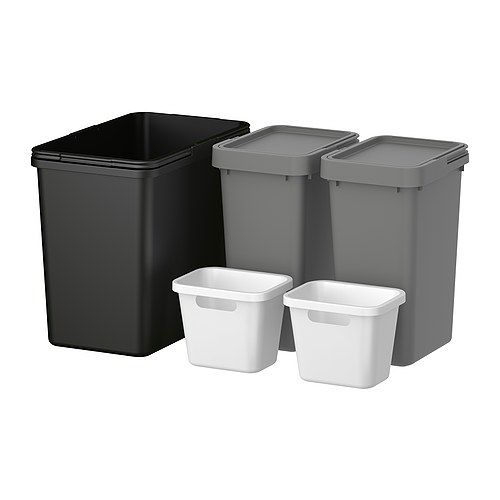 Rationell Waste Sorting For Cabinet Ikea Rooms And