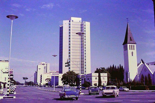 Jameson Avenue, Salisbury, Rhodesia, via Flickr. Now Harare, Zimbabwe.