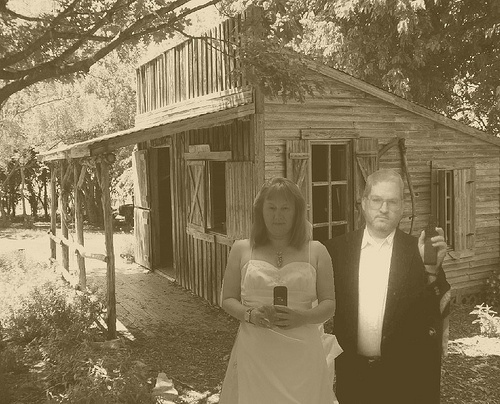 our cabin as husband and wife