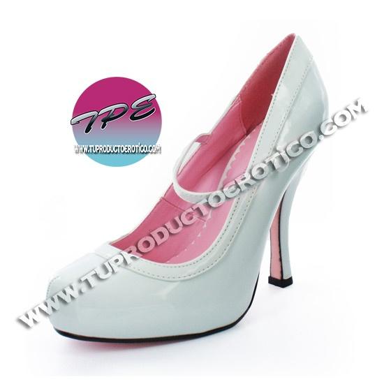 Leg Avenue - Zapatos de vestir para mujer blanco blanco NYXHoxFg