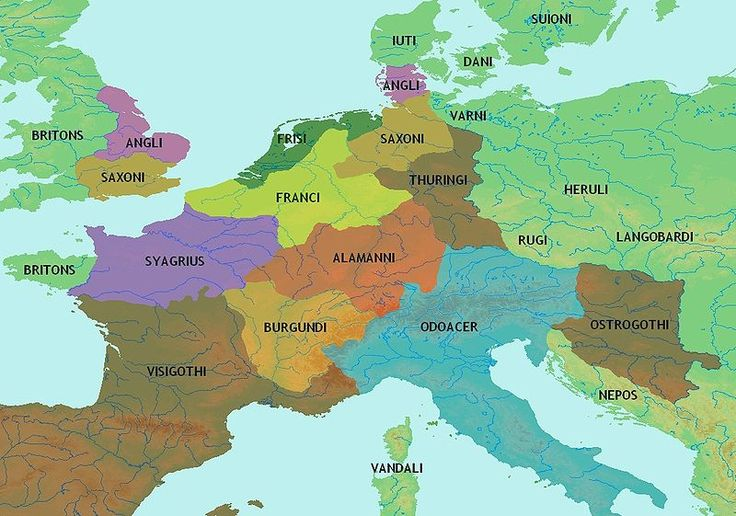 map of the celtic Britons and germanic tribes - Google Search
