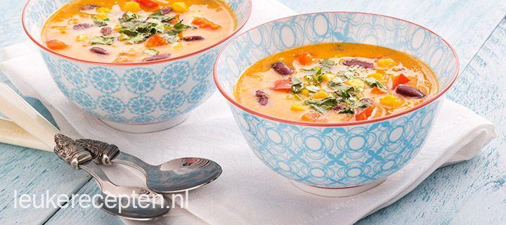 mexicaanse groente soep