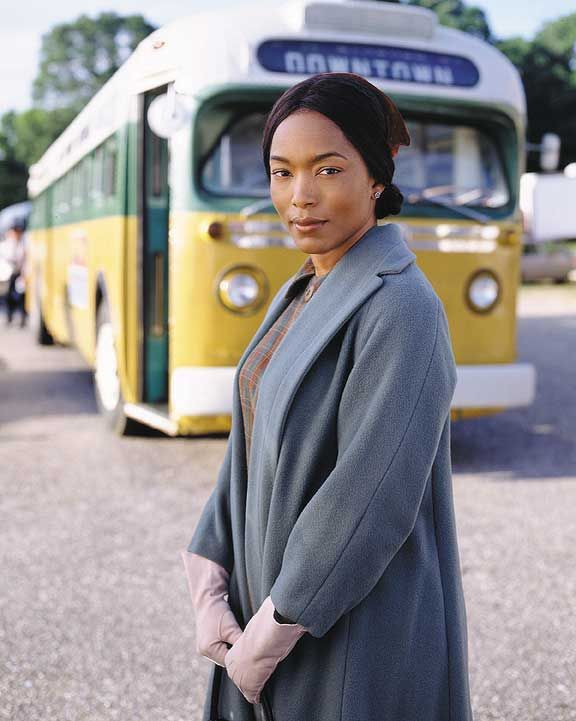 Angela Bassett (The Rosa Parks Story)- 2003 for Outstanding Actress TV Movie or Mini-Series. Bassett won an Image Award and earned an Emmy and SAG nomination  as the Civil Rights Icon.