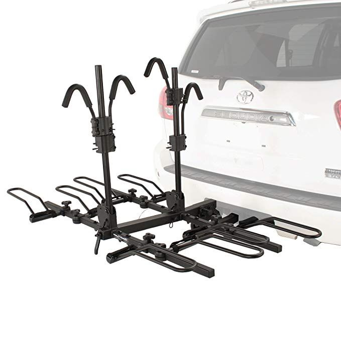 Enjoy Exclusive For Gongde 2 Bike Hitch Mount Rack Double Foldable