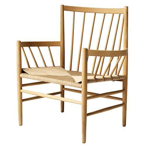 Jørgen Bækmark J82 stol - Matlakeret eg Loungestol - Komfortabelt og raffineret designerikon - Coop.dk