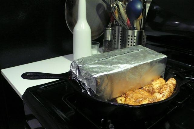 Brick Chicken - oh so good!!! | Food | Pinterest