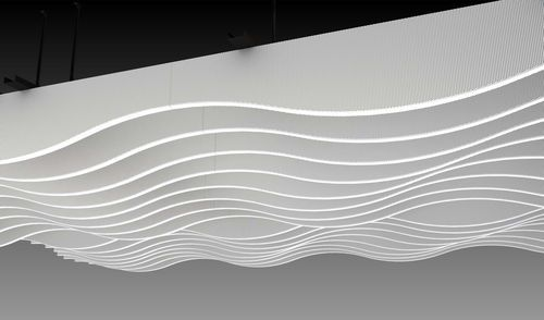 Laminated ceiling - Lindner LMD-L 601 LAOLA - ArchiExpo