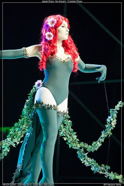 Japan Expo 2013 Poison Ivy cosplay