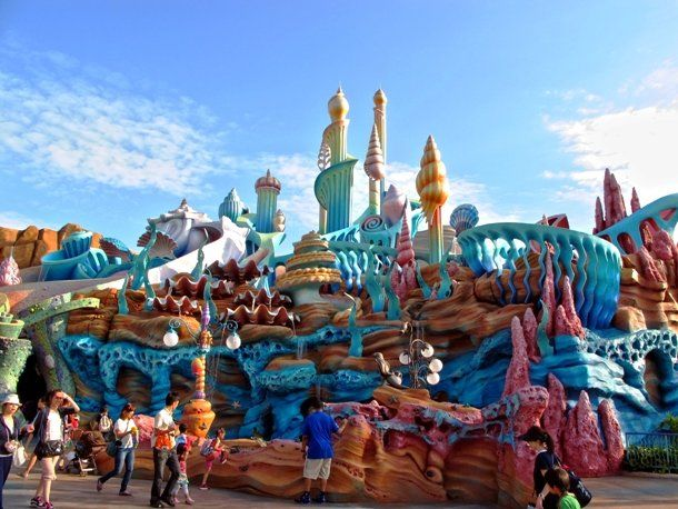 25 Popular Tourist Attractions You'll Want To See For Yourself: Tokyo Disney Sea, Tokyo, Japan - Located in Urayasu, just outside Tokyo, the Tokyo Disney Sea is a 176-acre (71.22 ha) fun park with nautical theme. Opened in 2001, the park was the fastest theme park in the world to reach the milestone of 10 million guests, having done so in just 307 days after its grand opening. Now, it is one of the most visited theme parks in the world with about 14 million visitors annually.