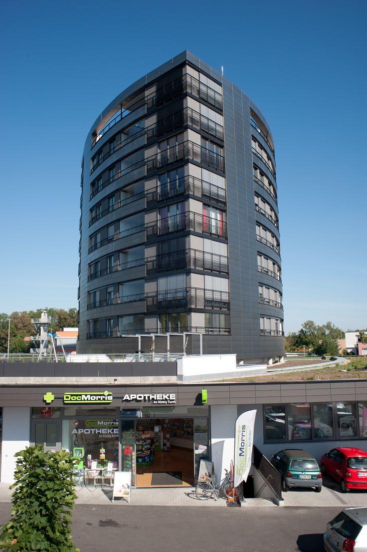 GEALAN dark acrylcolor windows #Kimryturmtower #largewindows