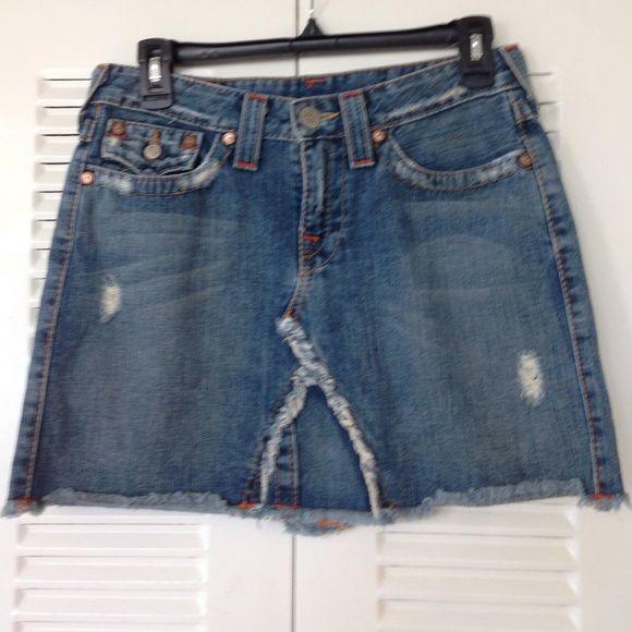 Jean Skirts Short