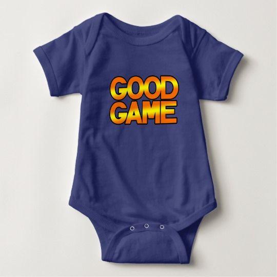 GG Baby Jersey Bodysuit, Royal Blue Baby Bodysuit