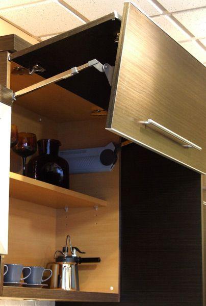 Bi Fold Lift System For Cabinet Doors