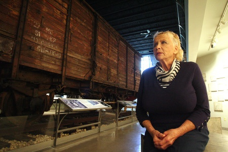 Lillian Stello Recently Visited The Florida Holocaust