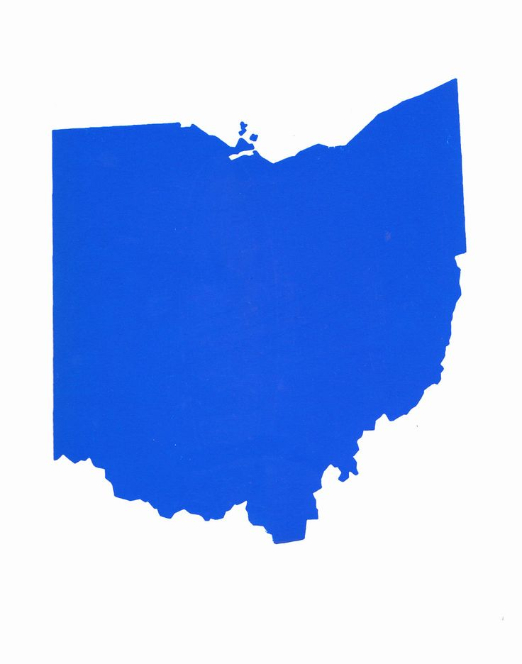 Ohio Shape Ohio State Shape 1179 X 1500 Jpeg