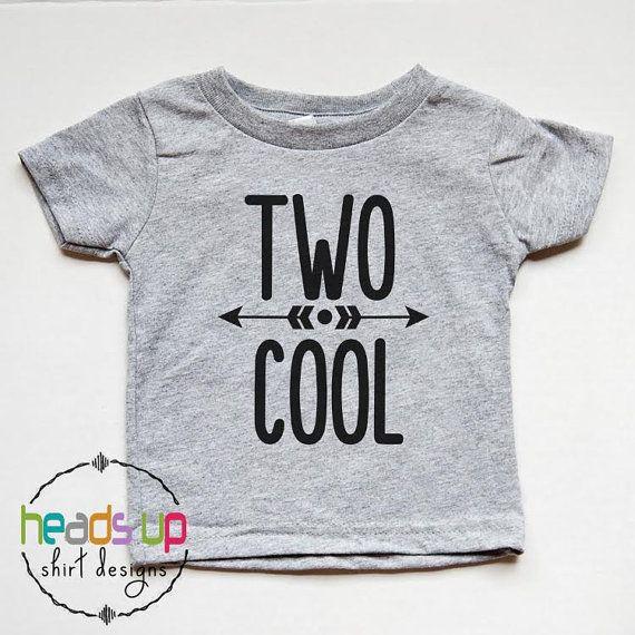 Zwei coole Geburtstag Shirt 2. Geburtstag Shirt Kleinkind   – kind