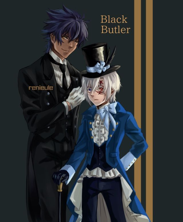 Tykki Mikk and Allen Walker Lol! This would certainly be interesting to watch XD D. Gray Man x Black Butler Crossover
