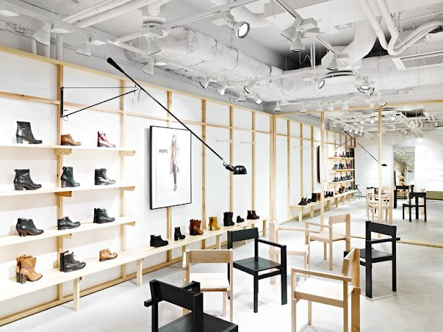 Hope's flagship store in Stockholm